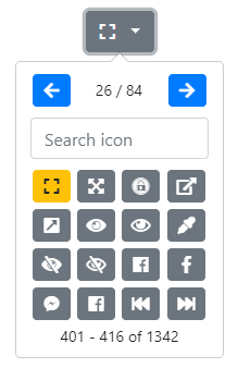 Bootstrap Iconpicker